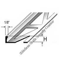 Dural Durosol Square Edge Profile Aluminum Beige Powder Coated