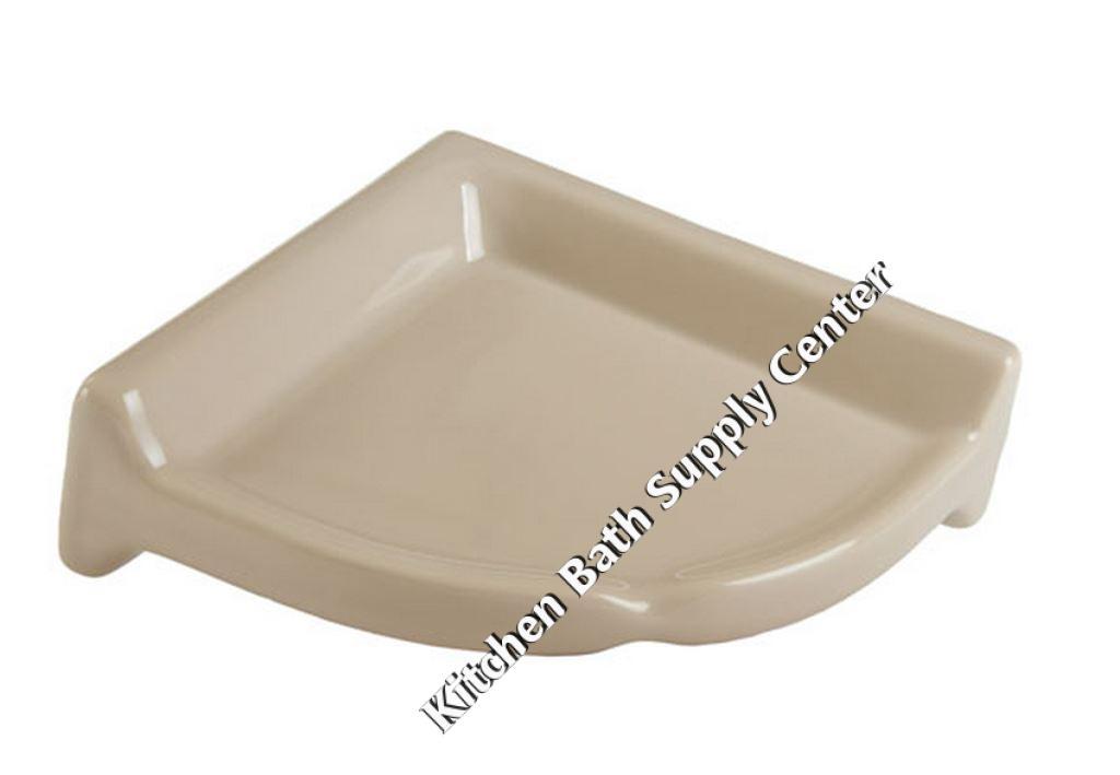 Ceramic Corner Shelf Unit for Shower CS77 by HCP Industries