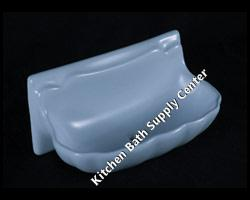 H36S Shell Soap Dish 3 x 6 Inch by HCP Industries