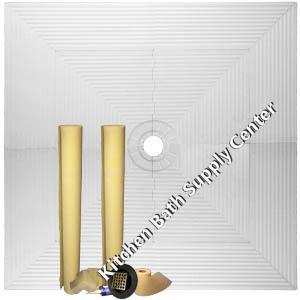 Pro Advanced waterproofing shower kit 72x72