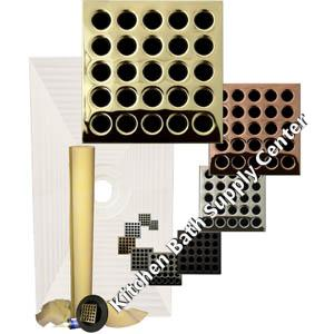 Pro Advanced Waterproofing 32 x 60 Center Drain Tiled Shower Kit