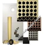 Pro Advanced 32 x 60 Offset Drain Tiled Shower Kit in ABS or PVC