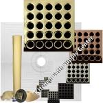 Pro Advanced 48 x 48 Custom Tiled Shower Kit in ABS or PVC