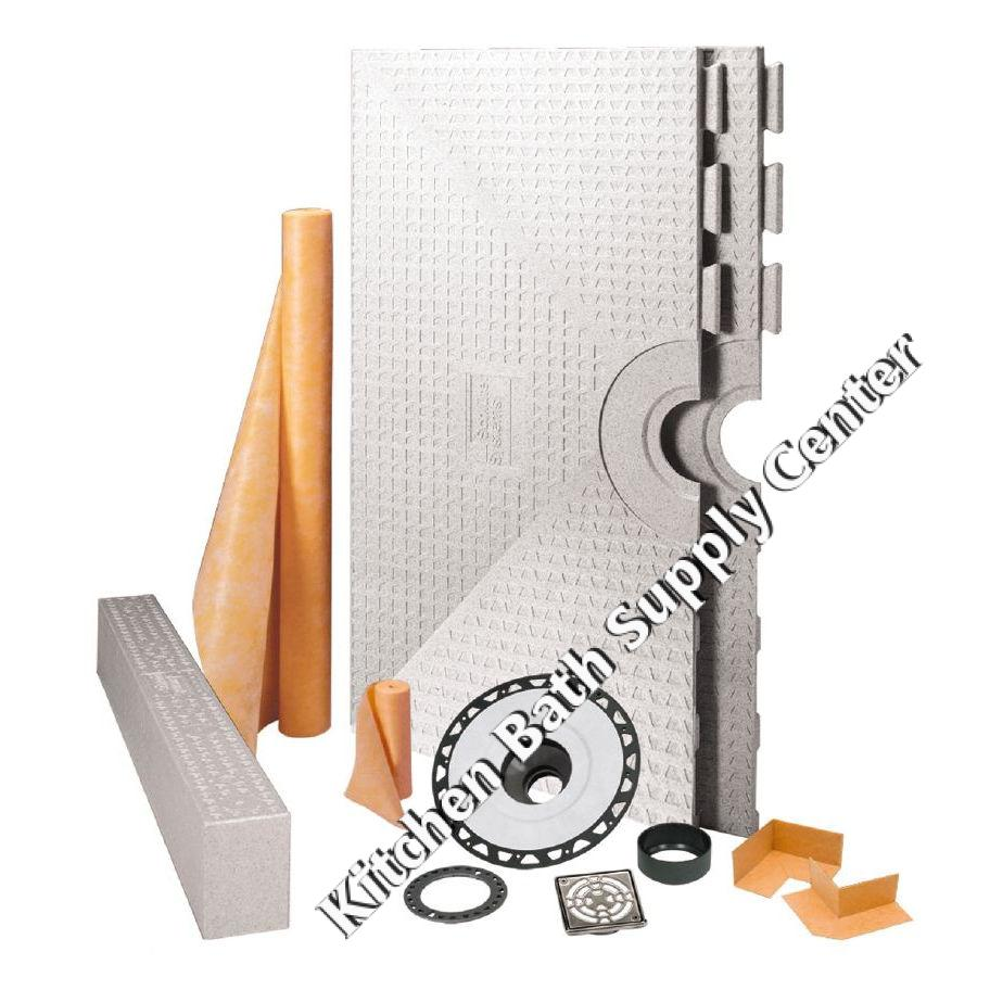 72 x 72 Inch Kerdi Shower Kit by Schluter Systems