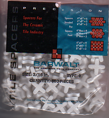 Ceramic Tile Spacers by Barwalt Tools