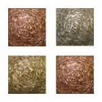 Metallic Tile Moonstruck Artisan Field Tile 4 x 4 Inches