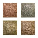 Metallic Tile River Rock Artisan Field Tile 4 x 4 Inches