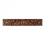 Metallic Tile Tuscan Rail 2 x 12 Inches