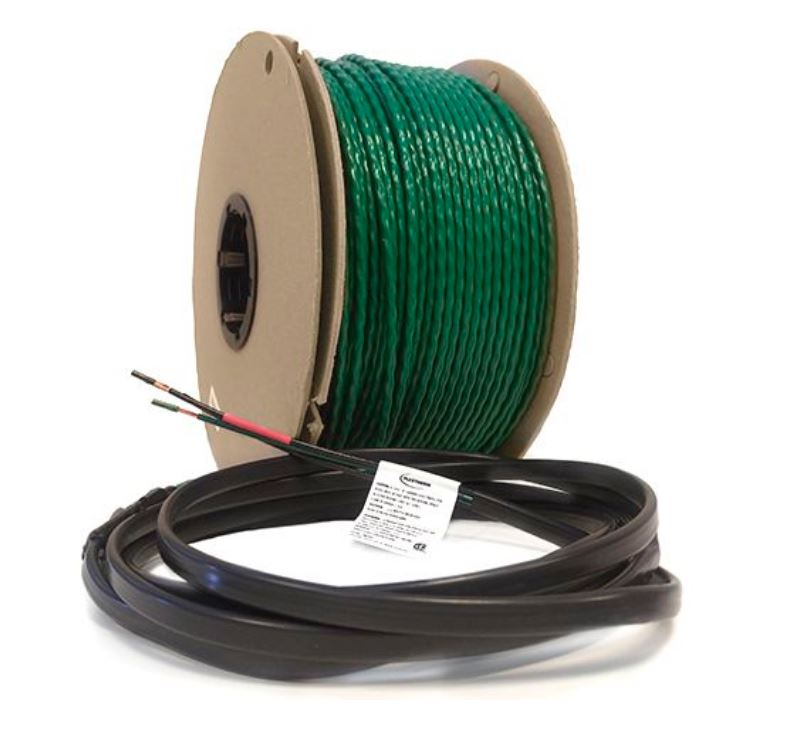 Green Cable Surface XL 120 VAC Radiant Heat Wire by FlexTherm
