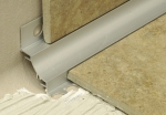 Internal Cove Tile Trim Stainless Steel