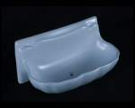 HCP Ceramic Shell Soap Dish 3x6in H36S