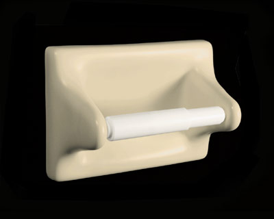 Ceramic Toilet Tissue Holder TT46 by HCP Industries