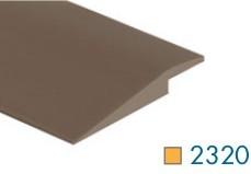 2320 Vinyl Overlap Tile Reducer 6ft by Loxcreen