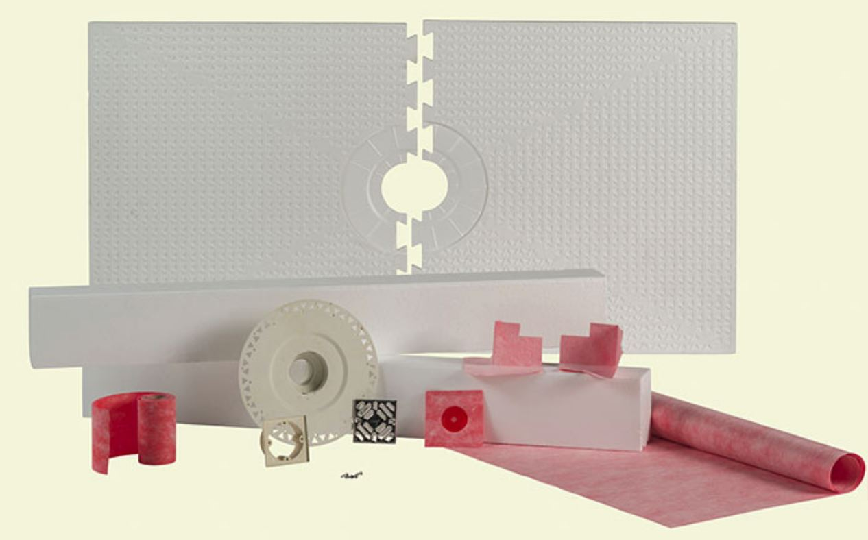 32 x 60 Prova Shower Kit Center Drain for Tile Waterproofing by Loxcreen