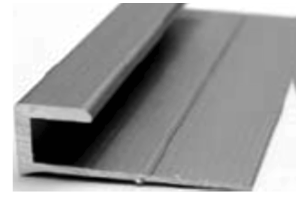 Luxury Vinyl Tile Trim J-Moulding Each by Loxcreen