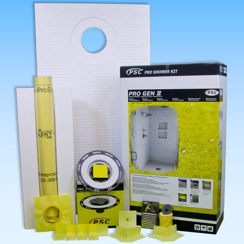 PSC Pro GEN II 32x60 Offset Waterproofing Shower Kit Similar to Kerdi by Pro-Source Center