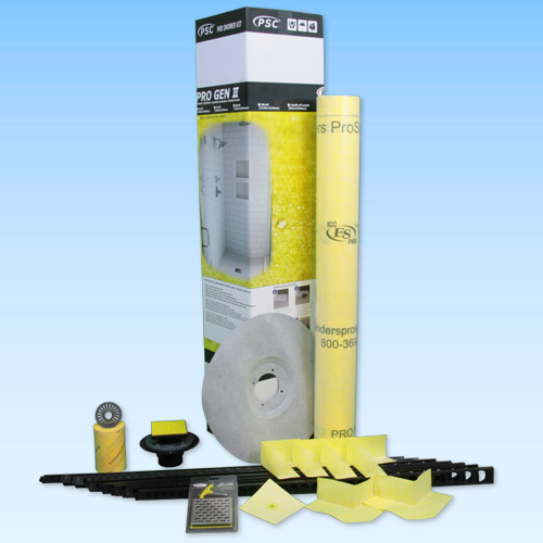 Pro Advanced Custom Tile Mud Kit 48x72 Center or Offset in ABS or PVC by Pro-Source Center