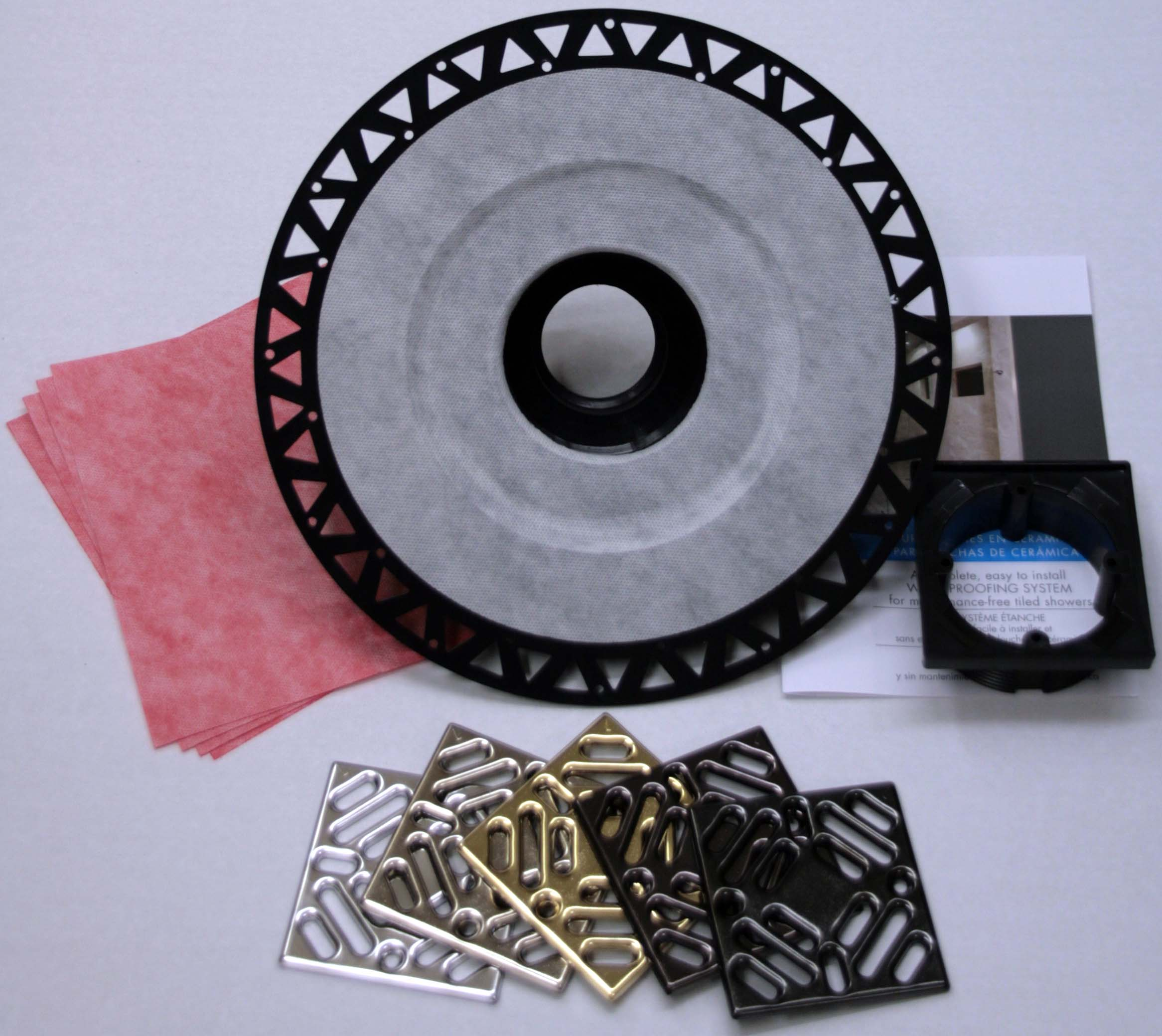 Pro Shower Drain Kit for Shower Systems ABS or PVC by Pro-Source Center