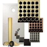 Pro Advanced Waterproofing 32 x 60 Offset Drain Tiled Shower Kit