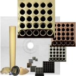 Pro Advanced 48 x 48 Custom Tiled Waterproofing Shower Kit ABS or PVC