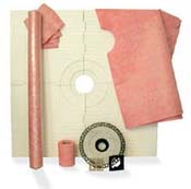 ProVa 48 x 48 Tiled Shower Systems Kit by Pro-Source Center