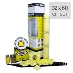 PSC Pro Gen II 32 x 60 Custom Tile Mud Shower Kit - Offset Drain