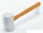 QEP 61613 White Rubber Mallet