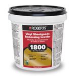 1800 Vinyl Sheetgoods Embossing Leveler 1 Quart by Roberts