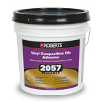 2057 Superior Vinyl Composition Tile Adhesive by Roberts