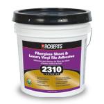 2310 Superior Fiberglass Sheet and Vinyl Adhesive 1 Gallon by Roberts