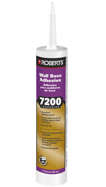 7200 Superior Wall Base Adhesive by Roberts
