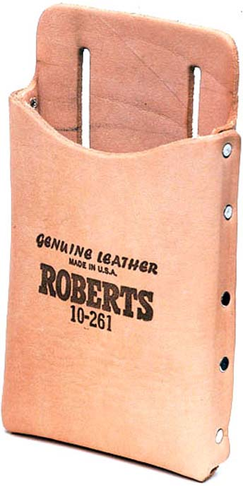 10-260 Leather Tool Pouch replaces 10-261 by Roberts