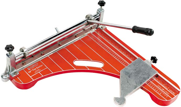 10-918 18 Inch Vinyl Tile Cutter by Roberts