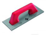 Rubi Finishing Trowels and Jagged Trowels with Closed Plastic Handle