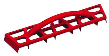 Aluminum Scraper for Cast by Rubi