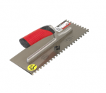 Rubi Notched Trowels 45 Degree Rubiflex Open Handle