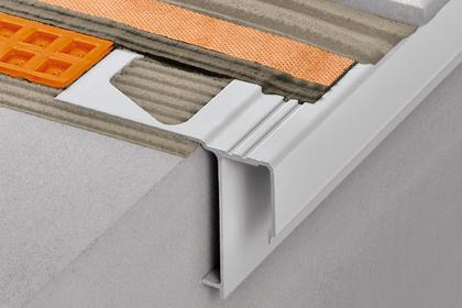 BARA-RAK Balcony Edging Profiles by Schluter Systems