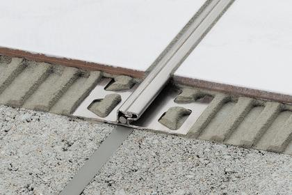 DILEX-EDP Stainless Steel Surface Joint Profiles by Schluter Systems