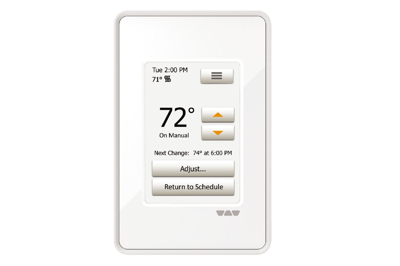 DITRA-HEAT-E-RT Touchscreen Programmable Thermostat by Schluter Systems