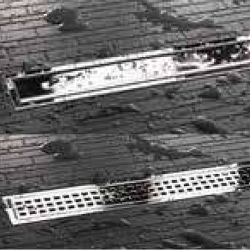 Schluter Kerdi-Line Chrome Grate Only for Linear Drains 20 to 48 Inch