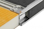 Schluter RONDEC-CT Anodized Aluminum Double-rail Edging Profile