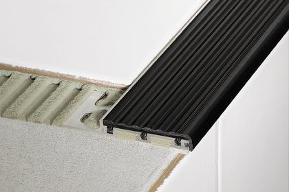 TREP-B Aluminum Anti-Slip Stair Nosing Profiles by Schluter Systems