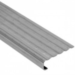 Schluter TREP-EK Stainless Steel Anti-Slip Stair Nosing Profiles