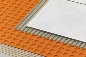 Ditra Ceramic Tile Underlayment by Sq Foot by Schluter Systems