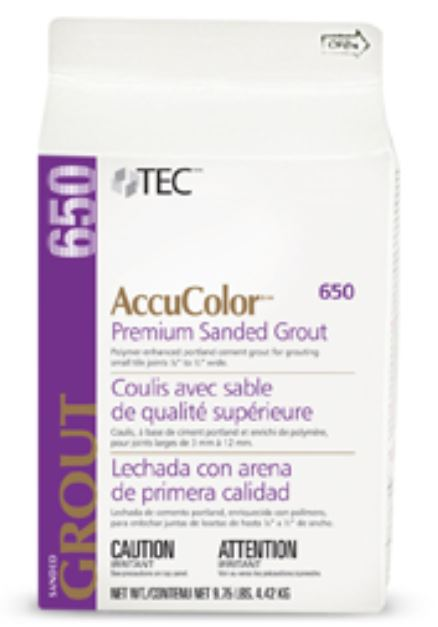 AccuColor Premium Sanded Grout 9 75lb PurePak by Tec