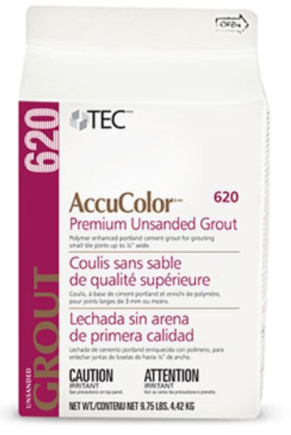 AccuColor Premium Unsanded Grout 9 75lb PurePak by Tec