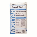 Tec Sturdi Set Contract Grade Thin Set Mortar 50 Lbs