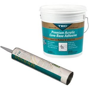 714 Premium Cove Base Adhesive Tube or Pail by Tec