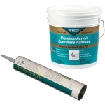 Tec 714 Premium Cove Base Adhesive Tube or Pail