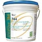 Tec 744 Solid Vinyl and Rubber Tile Adhesives